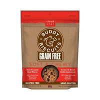 Cloud Star - Grain Free Soft & Chewy Buddy Biscuits - Beef