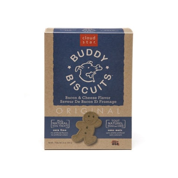 Cloud Star - Original Buddy Biscuits Dog Treats - Bacon and Cheese