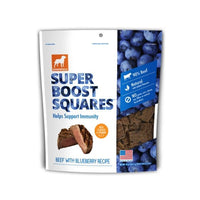 Dogswell - Super Boost Squares Dog Treats - Beef With Blueberry
