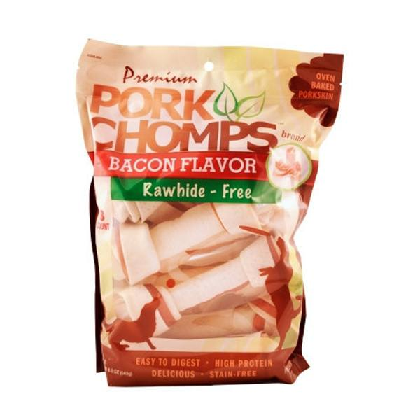 "Pork Chomps Premium 7"" Bacon Knotz"