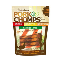 Premium Pork Chomps Twists - Assorted Flavors