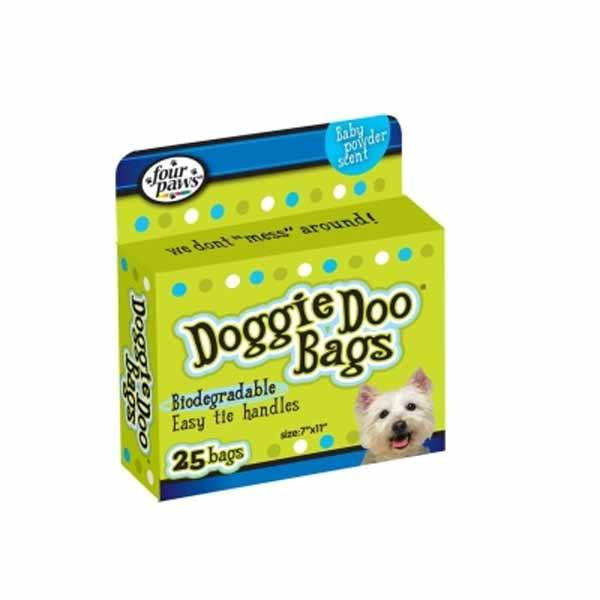 Four Paws - Doggie Doo Bags 25 Pack