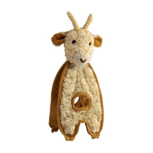 Cuddle Tugs Grazing Goat Dog Toy