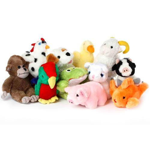 Multipet - Look Who's Talking Plush Dog Toys