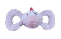 Jolly Pet's Tug-A-Mals Pig Dog Toy