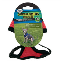 Four Paws Comfort Control Harness Extra Small Red