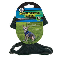 Four Paws Comfort Control Harness Extra Small Black