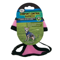 Four Paws Comfort Control Harness Extra Small Pink