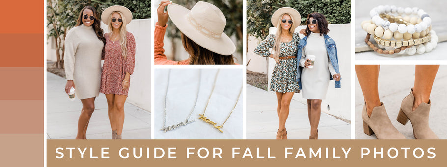 Style Guide for Fall Family Photos
