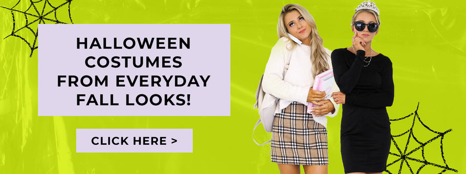 Halloween Costumes from Everyday Fall Looks!