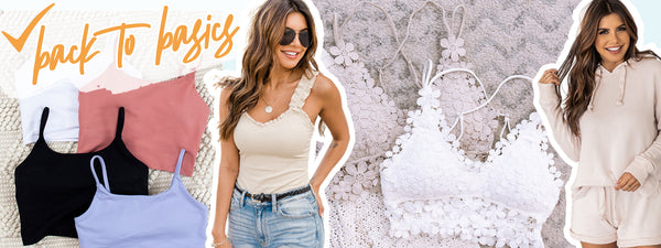 bralettes, bra tops, bodysuits, simple summer outfits