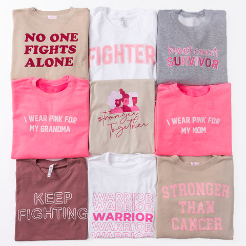 breast cancer awareness tees