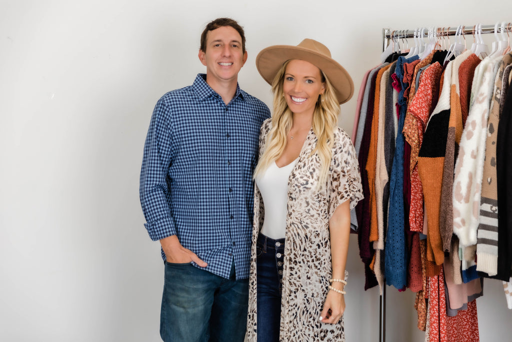 Chris and Tori Gerbig Founders of Pink Lily