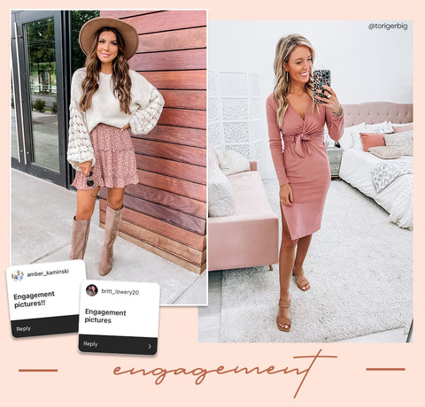 engagement picture outfits
