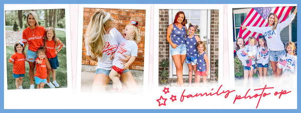 family photos 4th of july