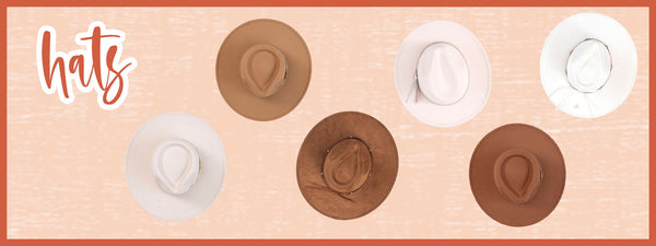 hats for fall and end of summer