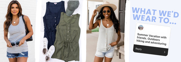 hiking vacation outfit