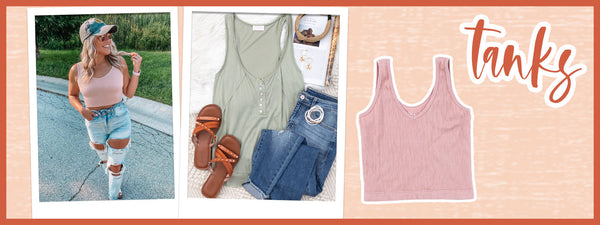 tanks for fall and end of summer