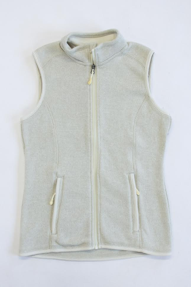 Ivory Heathered Vest CLEARANCE