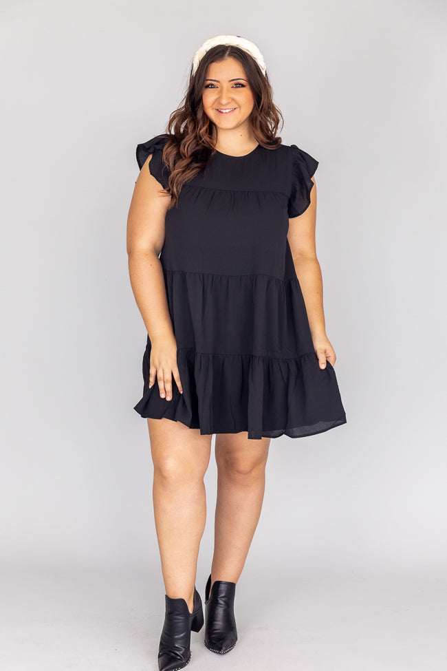 Complete My Heart Black Dress