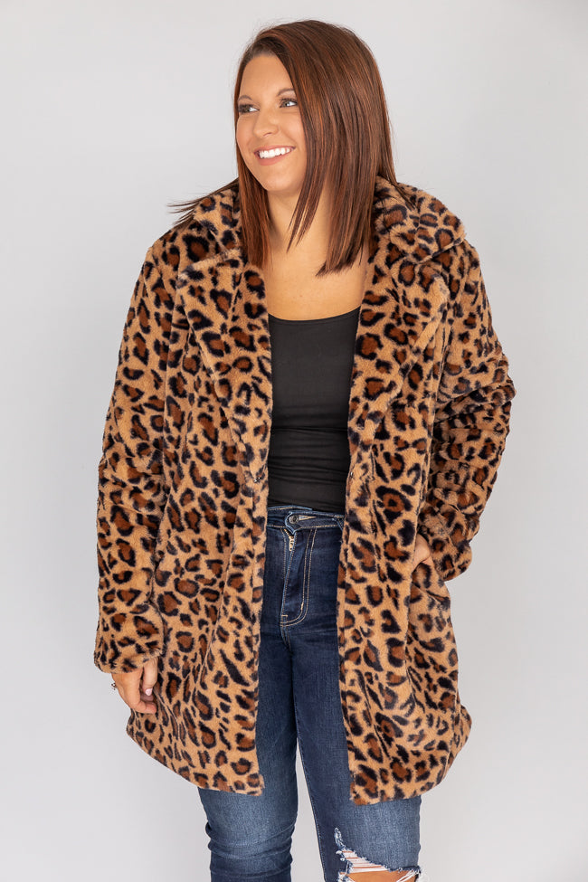 Spotted The Perfect Look Animal Print Coat FINAL SALE
