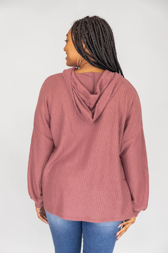 Look For Inspiration Mauve Pullover