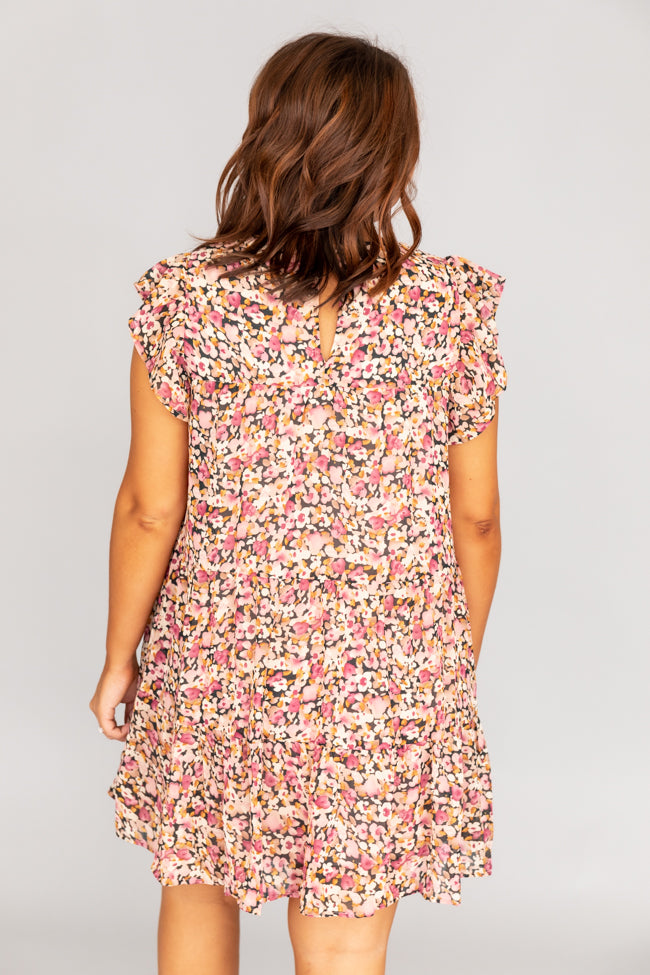 Complete My Heart Pink Floral Dress