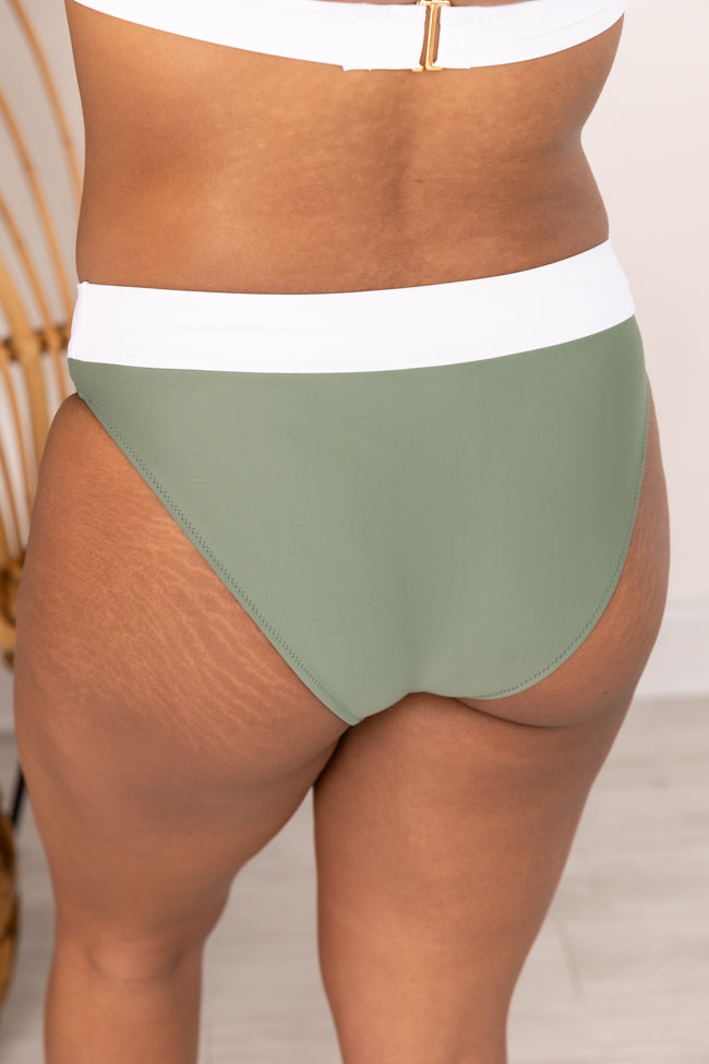 Match Made In Paradise Green Bikini Bottoms