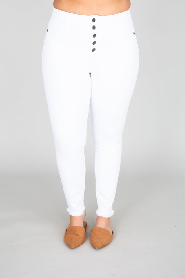 The Chelsie White Jeans