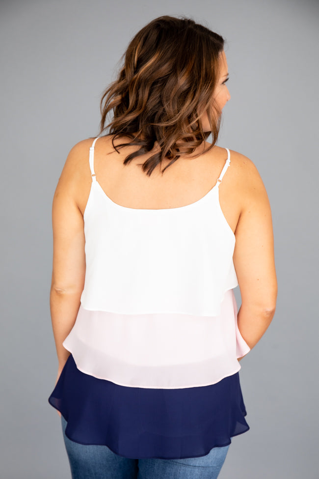 Colors of Summer Colorblock Tank