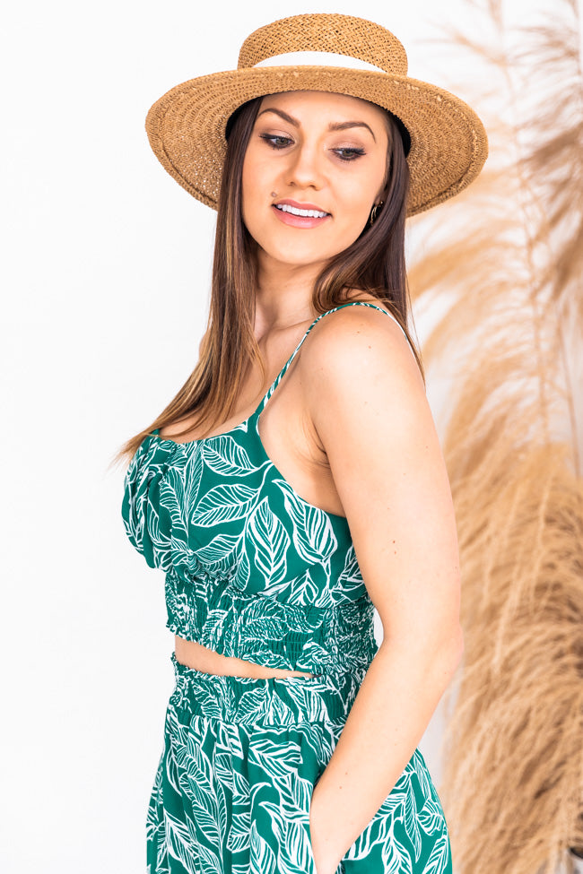 Heart of Paradise Two Piece Set Green