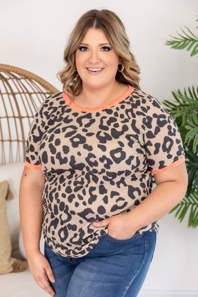 Being Your Best Animal Print Tee