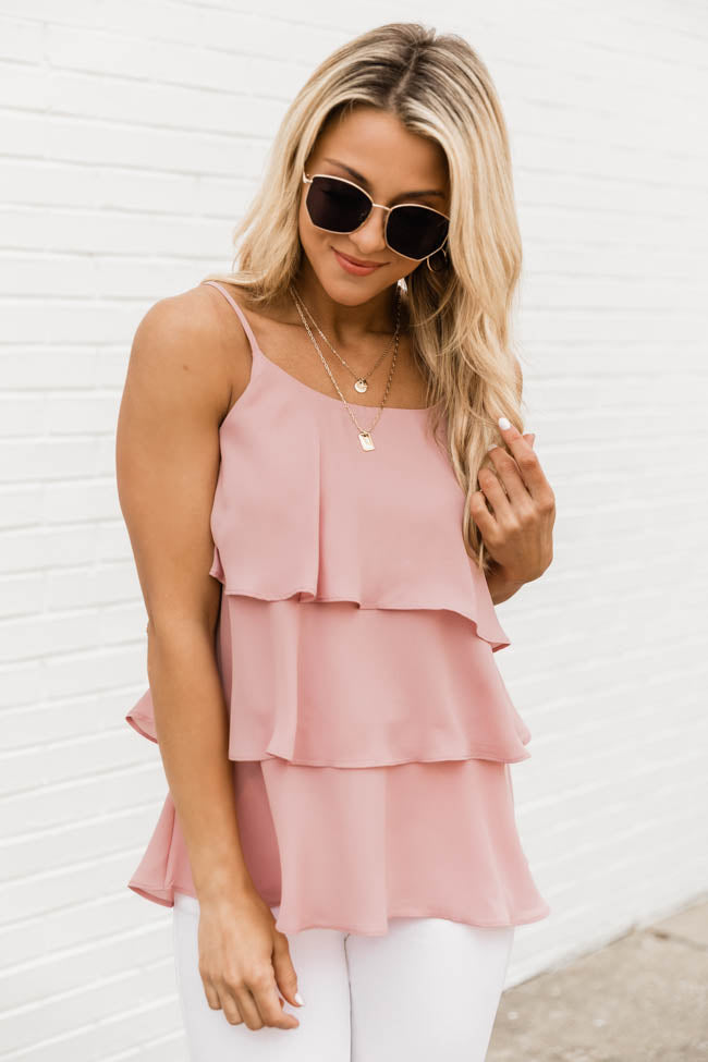 Colors Of Summer Solid Tank Mauve