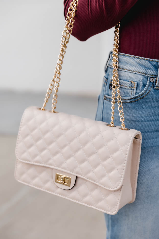 City Escape Taupe Purse
