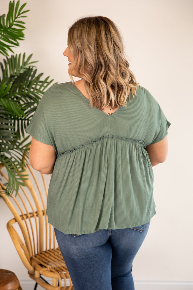 It's Your Destiny Knit Sage Blouse