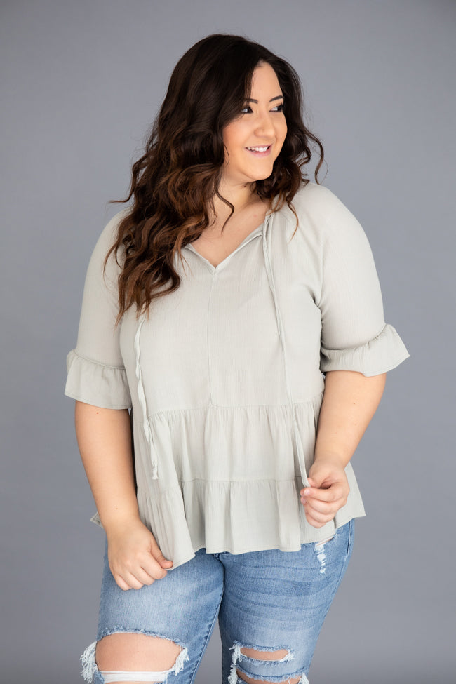 Restless Heart Sage Blouse