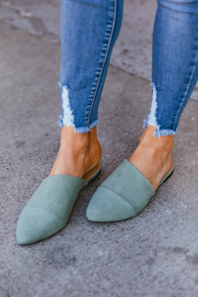 The Adrienne Green Mules