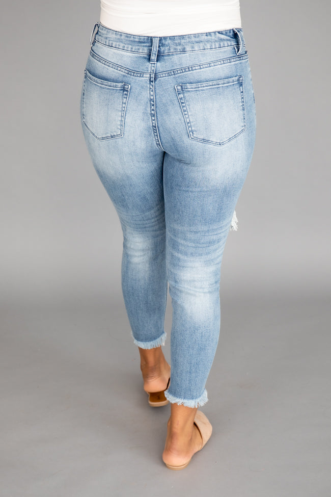 Tinsley Distressed Medium Wash Jeans