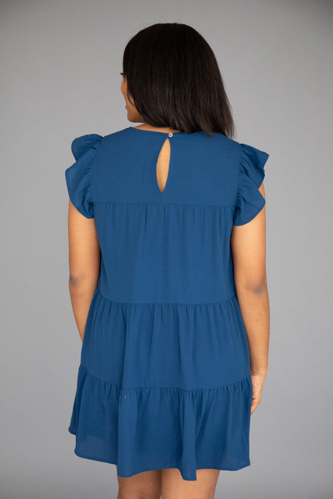 Complete My Heart Navy Dress