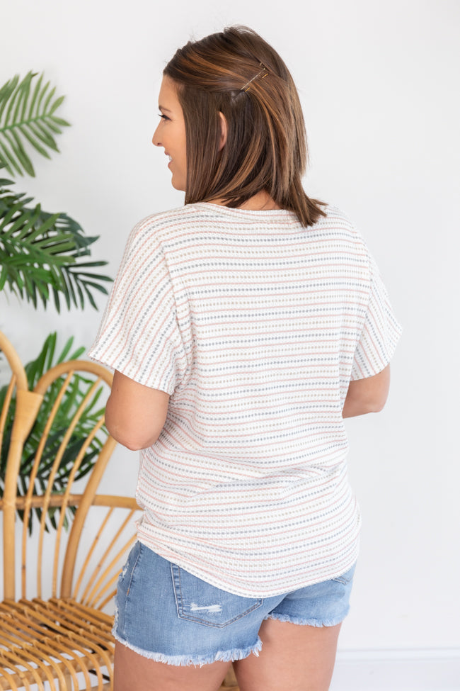 A Grateful Soul Striped Multi Blouse