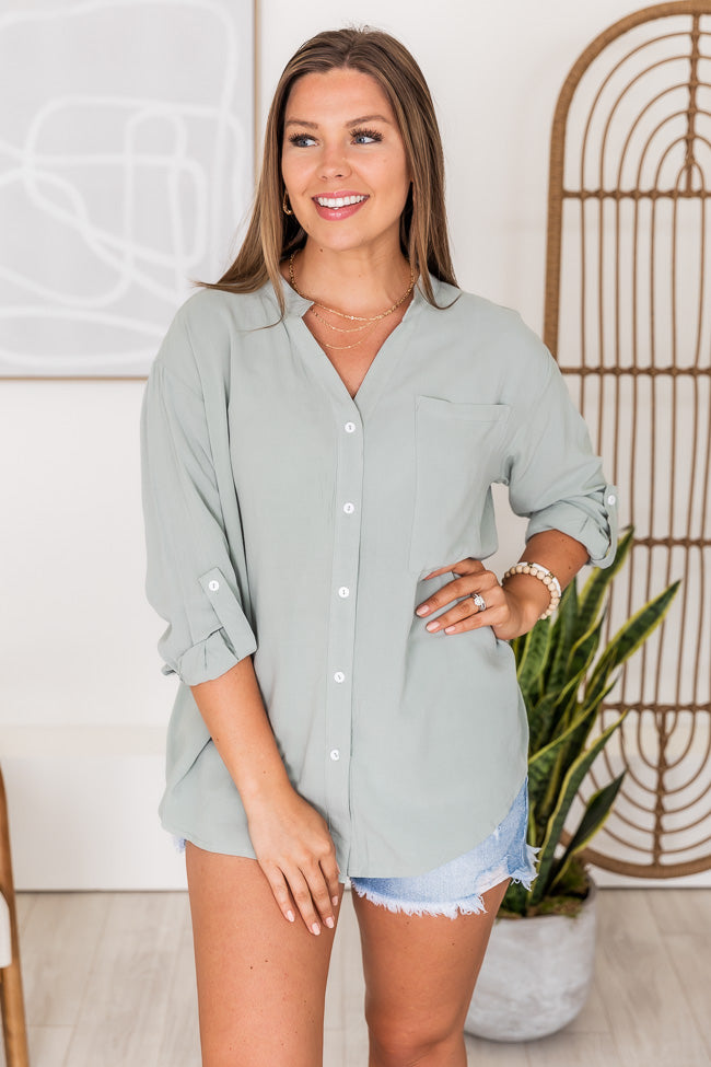 Lifetime Of Style Sage Blouse