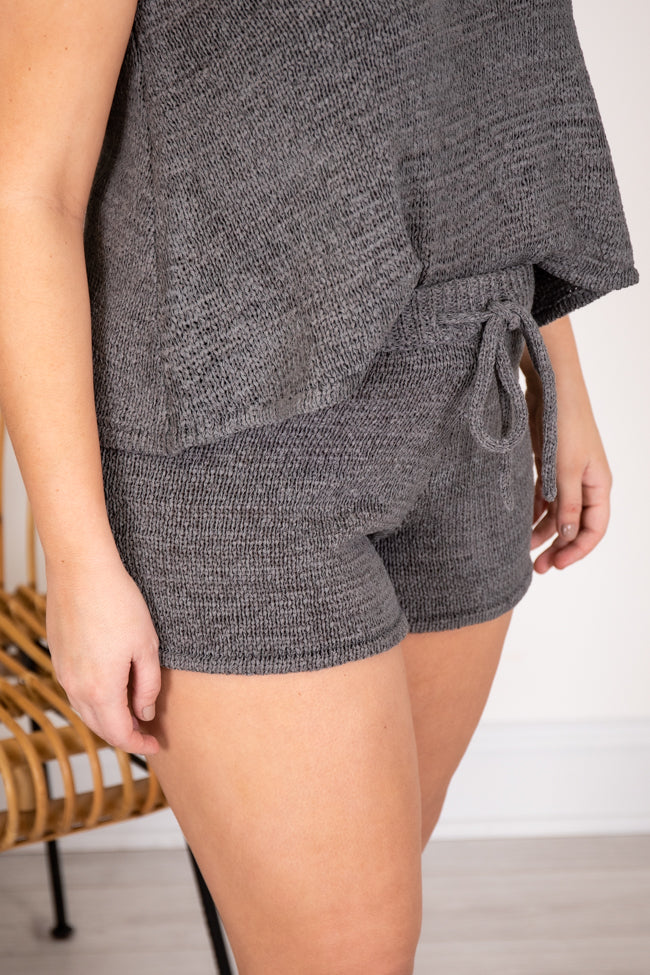 Wonder Often Charcoal Shorts