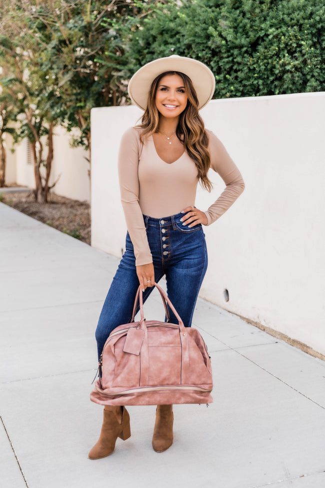Escape To The South Mocha Weekender Bag