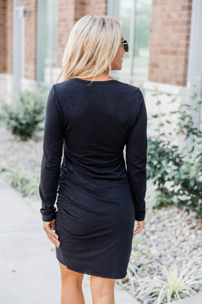 Sure To Fall In Love Black Dress