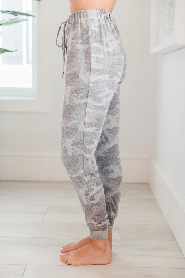 Born A Dreamer Camo Lounge Pants