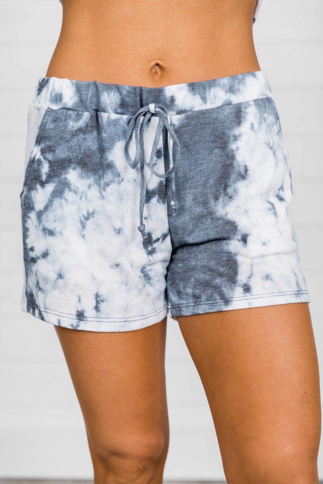 Ruling The World Tie Dye Blue Shorts