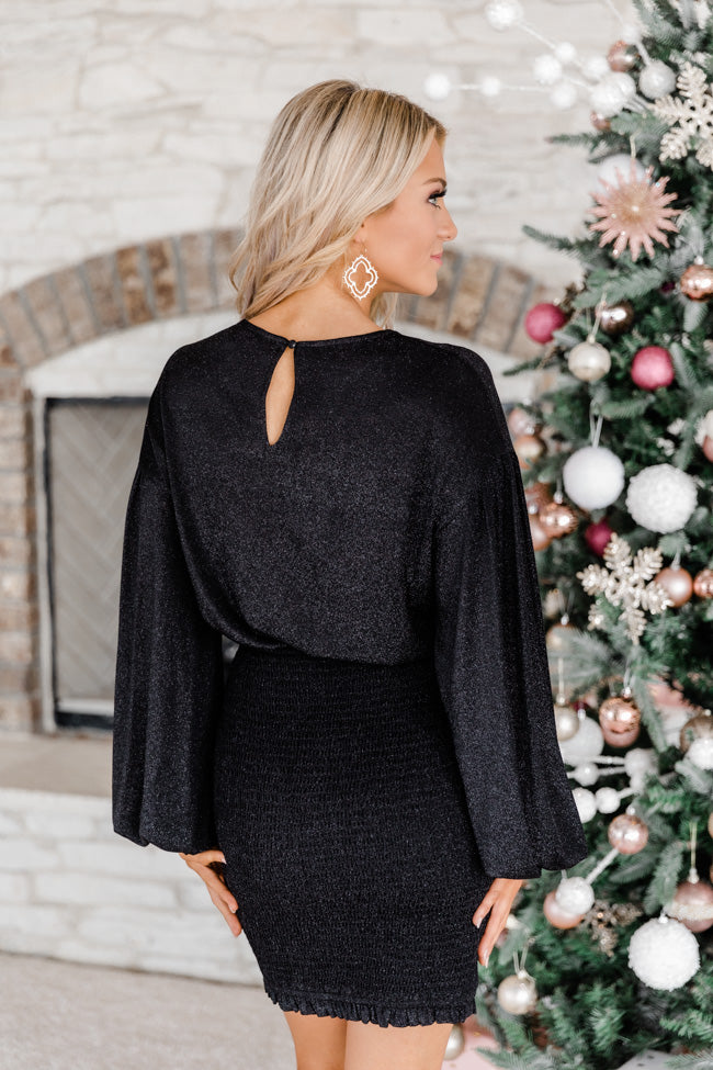 Getting Closer To You Black Dress FINAL SALE