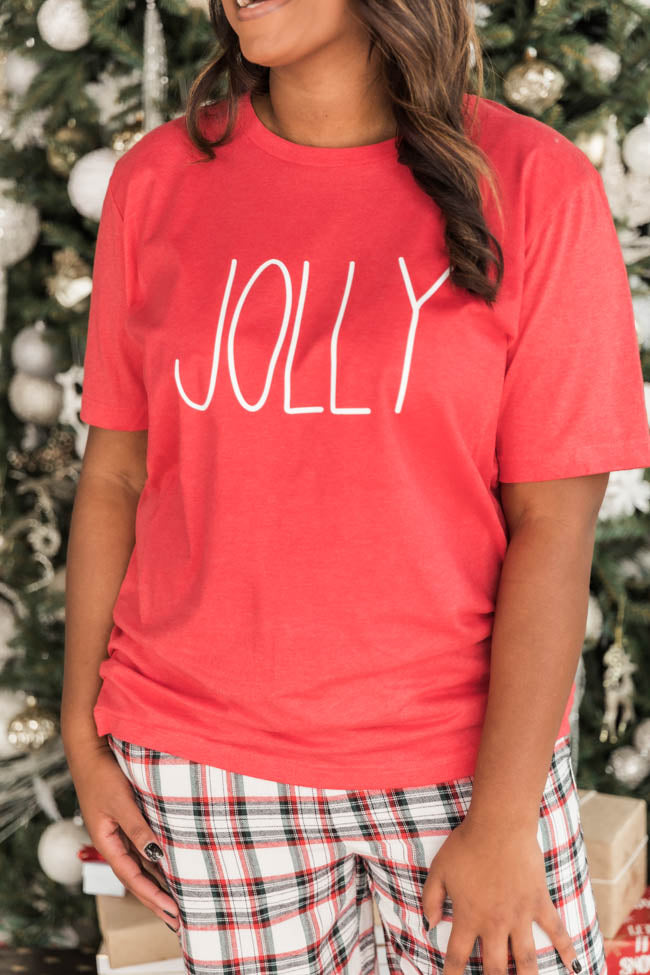 Jolly Graphic Red Tee