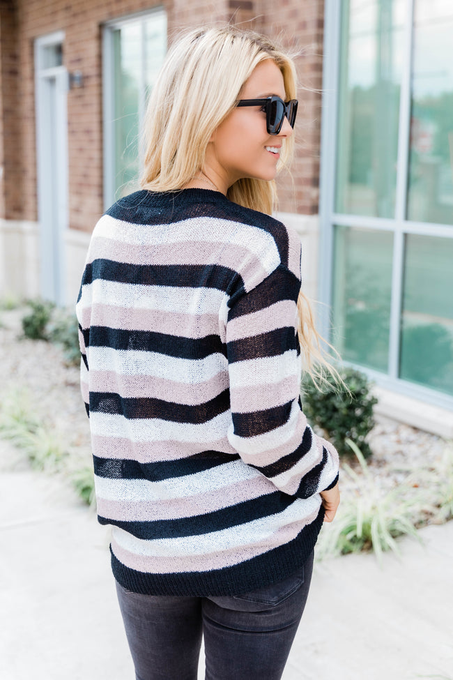 Keep On Hoping Striped Blouse CLEARANCE
