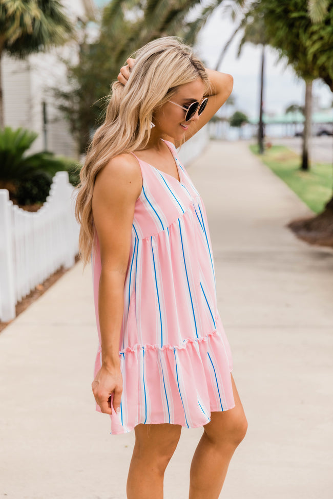 Soft and Sweet Babydoll Dress Blush